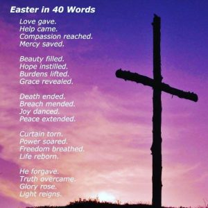 Sermon notes for 21st. April 2019, Easter Sunday