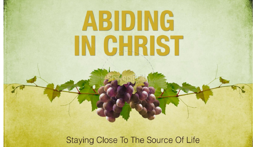 MESSAGE – 5th Sunday of Easter – 2 May 2021